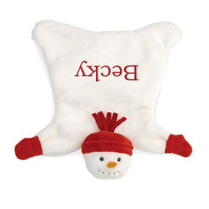 Personalized Snowman Cozy By North American Bear Co.