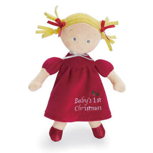 Baby's First Christmas Doll - Blonde
