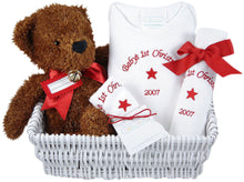 Baby's First Christmas - Personalized Gift Basket