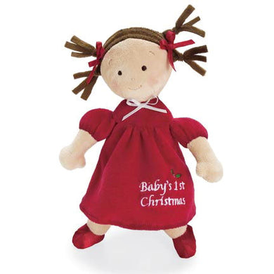 Baby's First Christmas Doll - Brunette