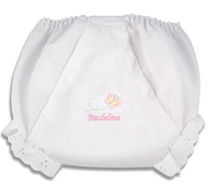 Personalized Baby Butterfly Diaper Cover