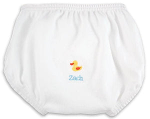 Personalized Just Ducky Diaper Cover