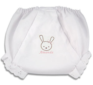 Personalized Little Bunny Diaper Cover