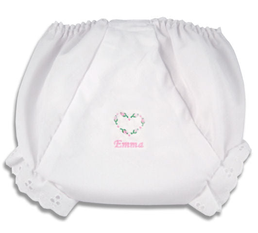 Personalized Sweetheart Diaper Cover