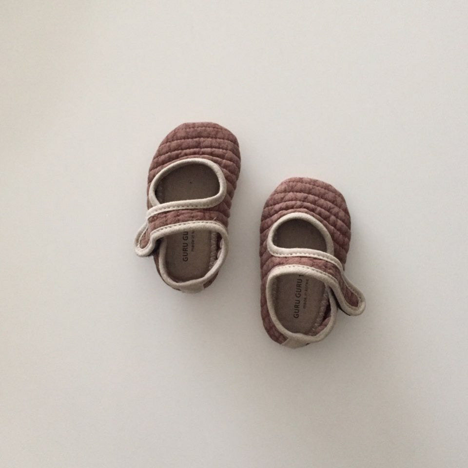 Baby Cotton Quilted Shoes
