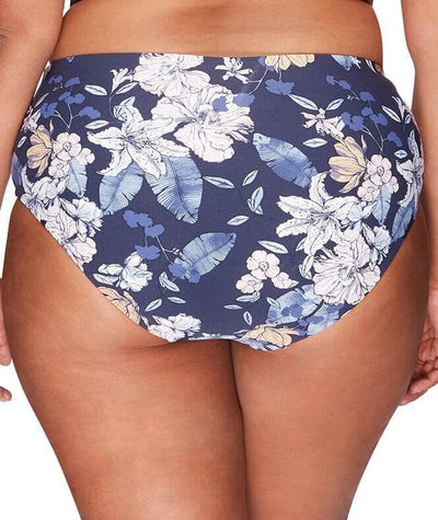 Artesands Mid Rise Basic Brief - Blossom Assemblage Swim