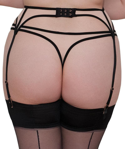 Scantilly Knock Out Thong - Latte - Model - 4