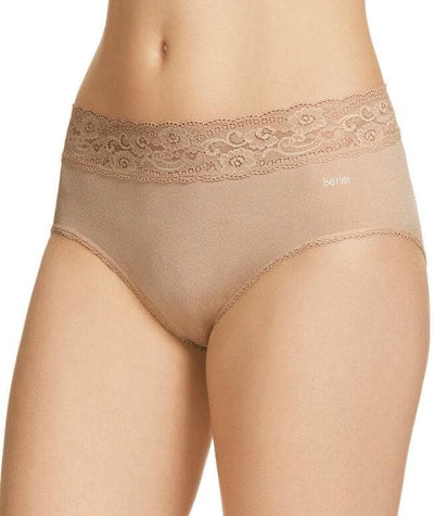 Berlei Barely There Deluxe Boyleg Brief - Nude Knickers