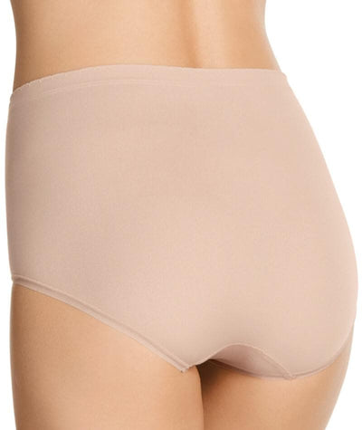 "Jockey Everyday Seamfree Full Brief- Dusk ""Back"""