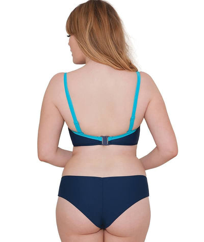Curvy Kate Set Sail Short - Indigo Mix Swim