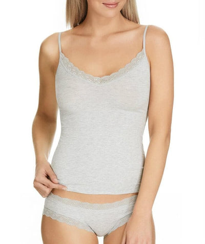 Jockey Parisienne Vintage Modal Camisole - Overcast Marle - Front