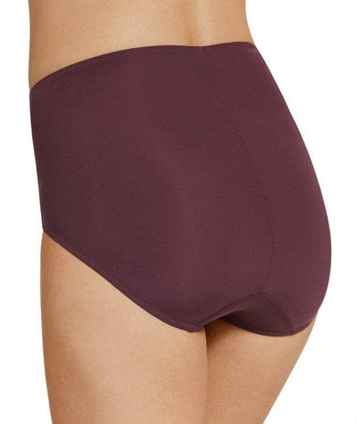 Jockey No Ride Up Microfibre and Lace Full Brief - Blackberry Delight Knickers