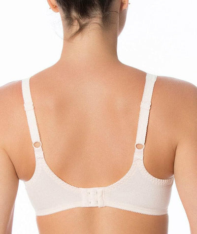 Triumph Ladyform Soft Minimizer Bra - Orange Highlight - Back