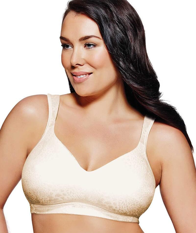 35b8ffad1ba Playtex Fittingly Fabulous Wirefree Bra Light Beige - Curvy