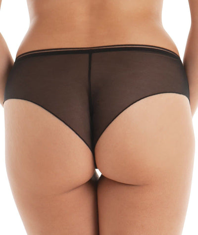 "Curvy Kate Lifestyle Short - Black ""Back"""
