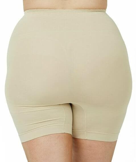 Sonsee Anti Chaffing Shapewear Short Shorts - Nude - Front