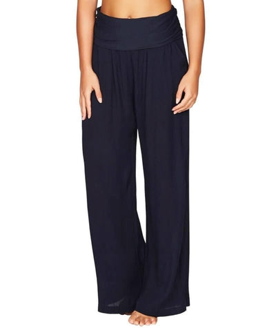 Sea Level Plains Folded Band Beach Pant - Night Sky Navy - Front
