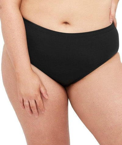 Artesands Control Mid Rise Basic Brief - Black - Front