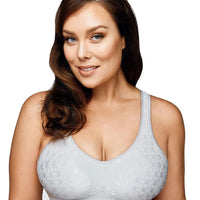 Playtex Comfort Revolution Dot Wire Free Bra - Crystal Grey
