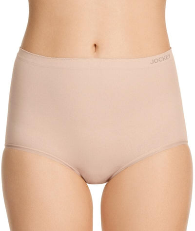 "Jockey Everyday Seamfree Full Brief- Dusk ""Front"""