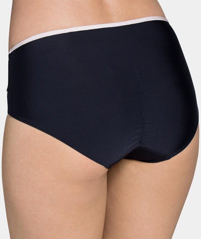 Triumph Contouring Sensation Midi Brief - Black - Back View