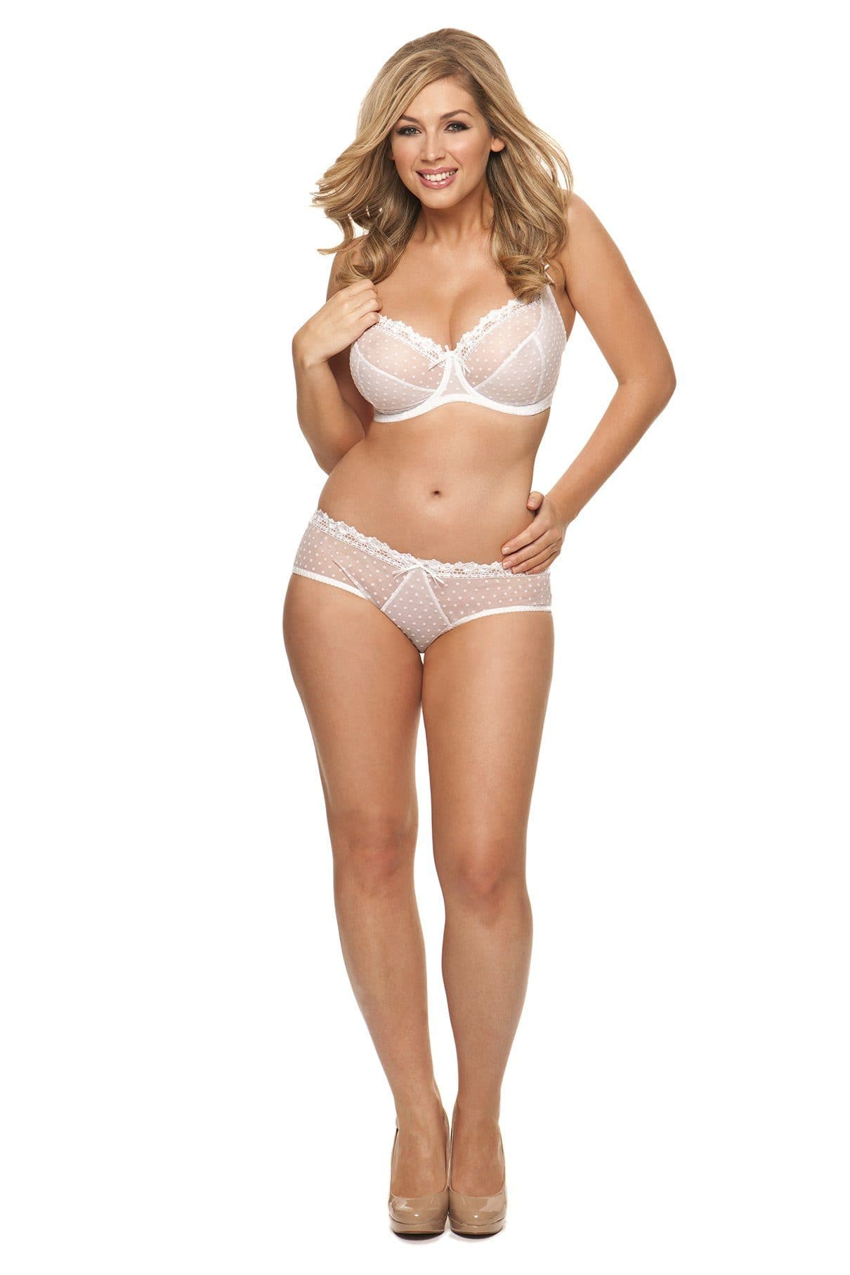 0f5e4c5b10 Curvy Kate Princess Balcony Bra - White