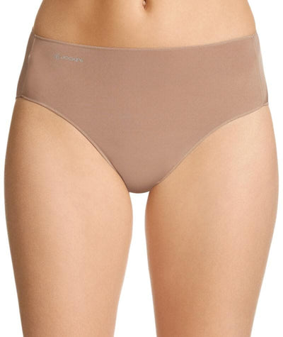 Jockey No Panty Line Promise Tactel Hi Cut Brief - Flesh