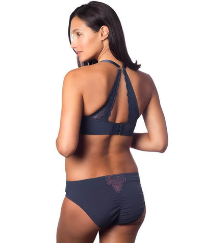 Hotmilk Temptation Bikini Brief - Mood Indigo Knickers