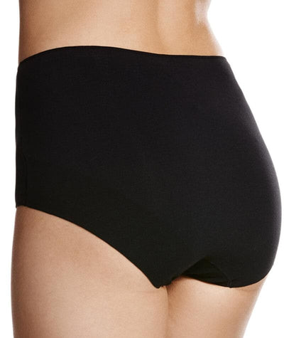 Jockey No Panty Line Promise Next Generation Cotton Full Brief - Black Knickers