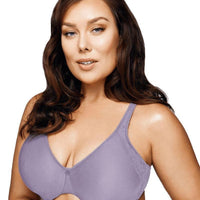Playtex Side Support and Smoothing Minimiser Bra - Amethyst Quartz