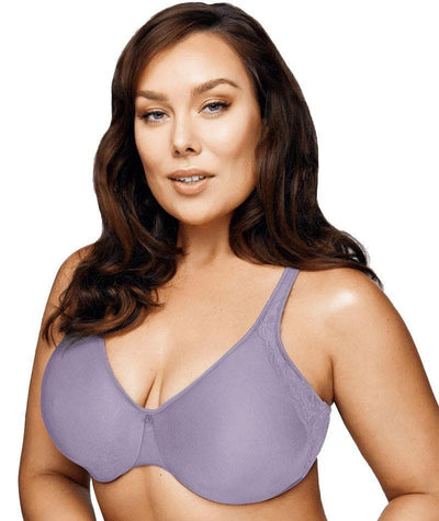 Playtex Side Support and Smoothing Minimiser Bra - Amethyst Quartz Bras 12C