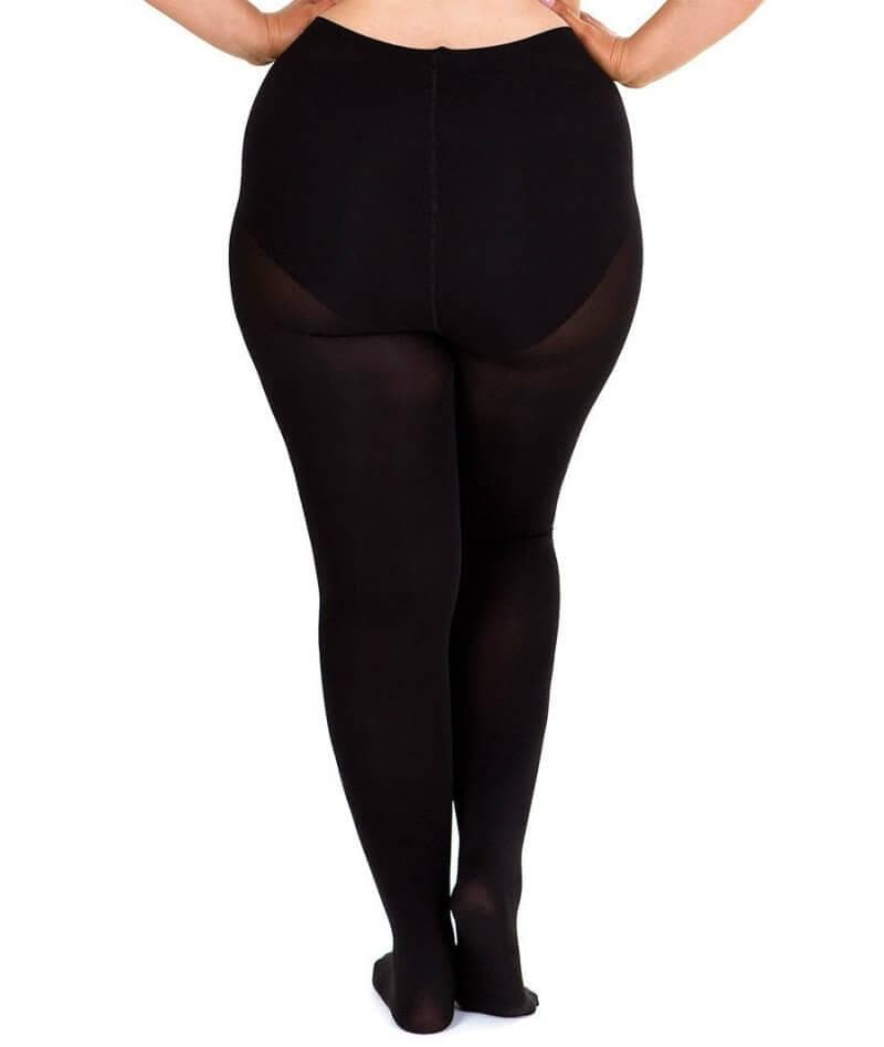 Sonsee Opaque 100 Denier Full Tights - Black - Front