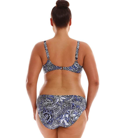 Capriosca Side Rushed Mid Pant - Batik Swim