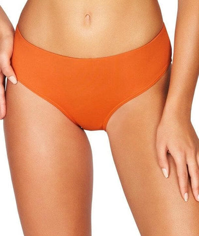 Sea Level Essentials Mid Bikini Brief - Orange Swim 8
