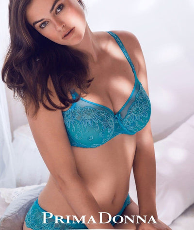 Prima Donna Oriental Night Bra-Summer Blue