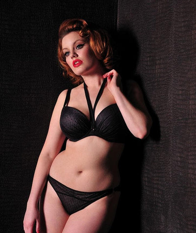 Scantilly All Wrapped Up Bra- Black Bras