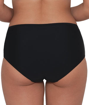 Curvy Kate Hi Voltage Brief - Black Swim 8