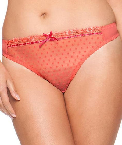 Curvy Kate Princess G-String - Tigerlilly/Rose
