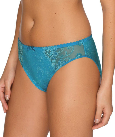 Prima Donna Oriental Night Briefs -Summer Blue Knickers