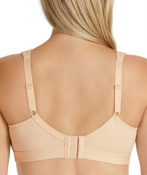 Playtex Ultimate Lift & Support Cotton Bra - Soft Taupe - Front