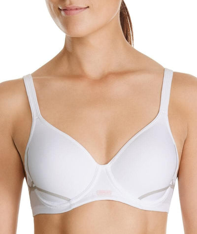 Berlei Electrify Contour Sports Bra - White Bras 8A