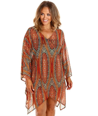 Capriosca Mesh Tunic - Safari Swim OS