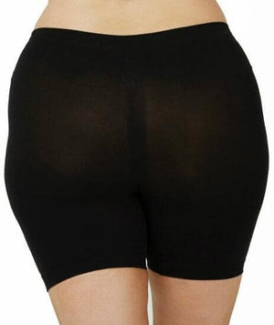Sonsee Anti Chaffing Shapewear Short Shorts - Black - Front