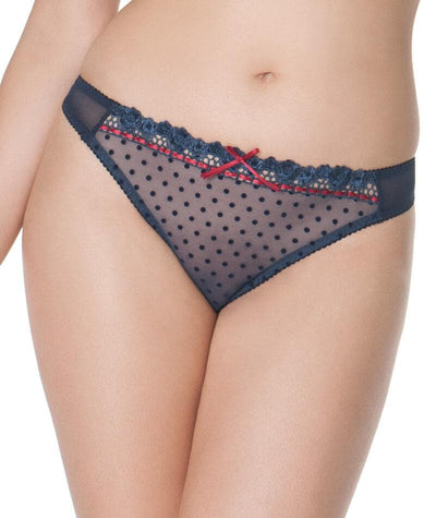 Curvy Kate Princess G-String - Blueberry Knickers 10