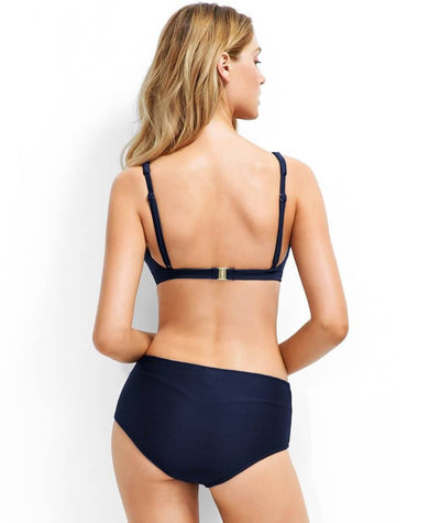 Miléa C-E Cup Triangle Bikini Mini Rib - Ink