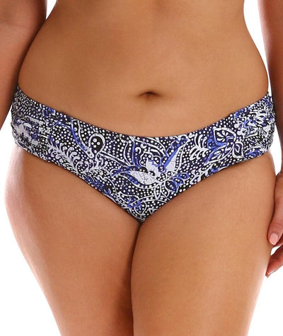 Capriosca Side Rushed Mid Pant - Batik Swim 10