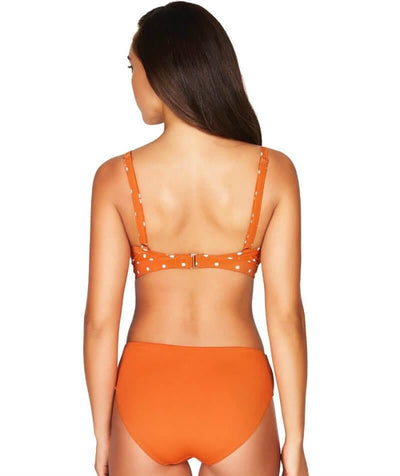 Sea Level Essentials Mid Bikini Brief - Orange Swim