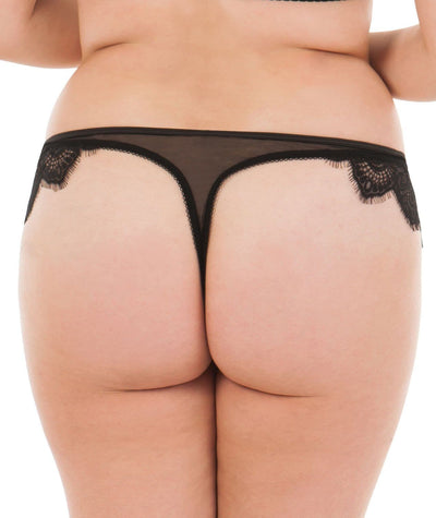 Scantilly Intoxicate Thong - Black Knickers