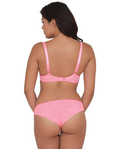 Curvy Kate Can Can Plunge Bra - Flamingo