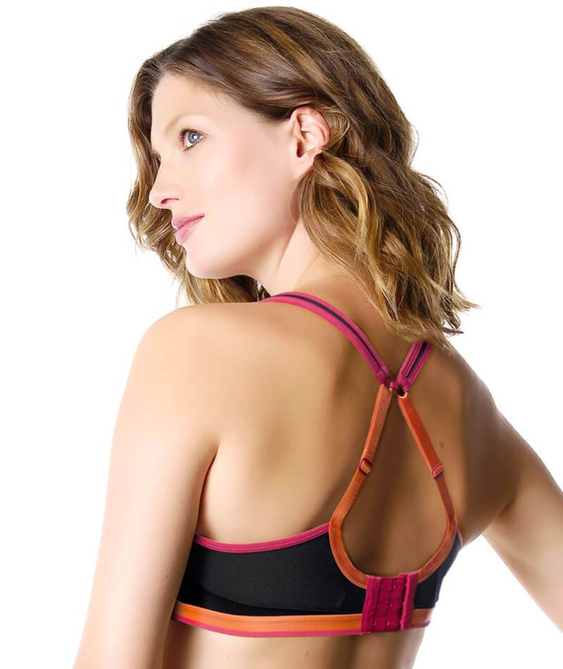 Hotmilk Activate Sports Flexiwire Nursing Bra  - Black